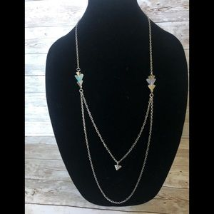 Jewelry - 3/$7- Silver Layered Necklace